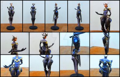 League of Legends - Camille Papercraft by alicestuff