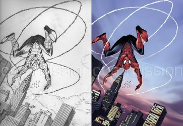 Commission - Spider-Man by coloring