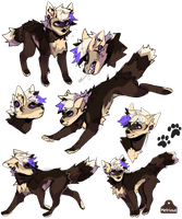 [Com] Sketchpage Wolf by metriaus