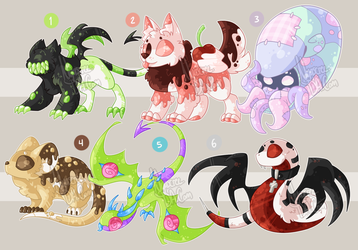 Critter Adopts Sale - [CLOSED] by Nyascree