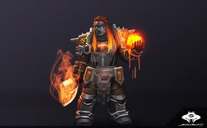 ...Commission: Dark Iron Dwarf Shaman... by ShadowPriest