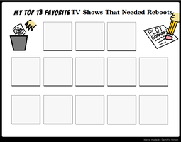 Top 13 Favorite TV Shows That Needed Reboots Meme by KatieGirlsForever