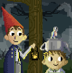 Over the Garden Wall pixel animation by n33rrx