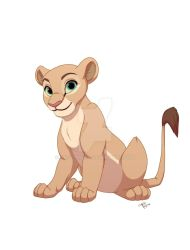 Young Nala by ArtsyMaria