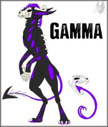 Gamma - Character Design by CausticKreature