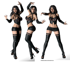 Free Stock PNG:  Lillith as Vampire by ArtReferenceSource