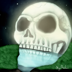 Moon Skull by Garinas