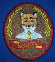 Fantastic Mr. Fox Embroidered Patch by Spaceguy5