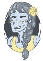 yellow rose by FlygonEffect413