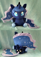 Princess Luna floppy plush by Bakufoon
