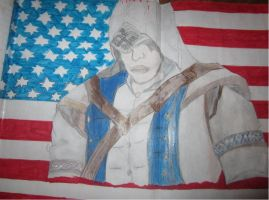 connor assassins creed 3 by wolfwarrior74