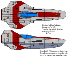 Apollo Class Trade Fighter by braden1986