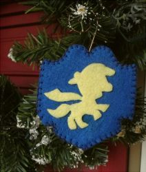 My Little Pony CM Crusader Christmas Ornament by Slipsntime