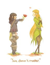 Size doesn't matter, but love does by Eliosu