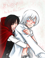 Ruby and Weiss by wazabi34