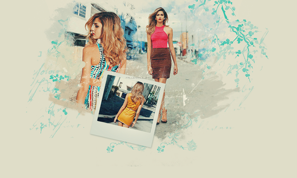 Ana Beatriz Barros (model) Header by FallennHalo