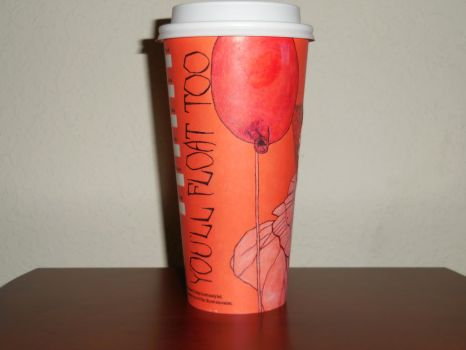 Starbucks Fall Cup: You'll Float Too by FlowerPhantom