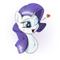 Miss Rarity by ManeInGreen