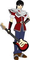 Guitarist Marth by DuctToast