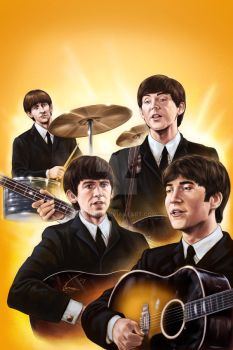 The Beatles by VinRoc