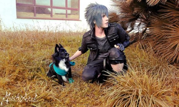 Noctis and Umbra by Misch.Axel by MischAxel