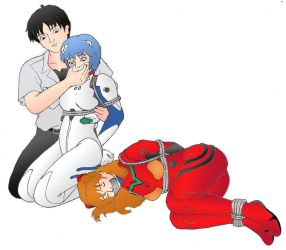 ASUKA AND REI KIDNAPPED by axelpablo