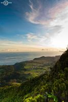Azores Sunset by TiagoTakesPictures