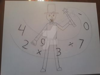 Baldi as a Math Magician by KirbyFan99