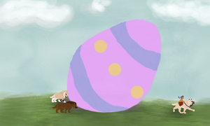 The Mother of All Easter Eggs by magikwolf