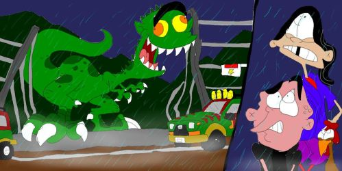 Jurassic Ed: The Edosaurus Rex by SammyD-Productions