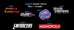 Hasbro Cinematic Universe- Phase 1: Assemble by maxkid1030