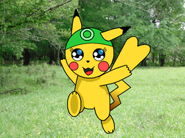 Greenchu colored by AlucardX60