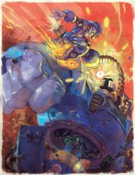 Megaman Tribute by TheRagingSpaniard