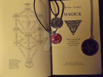 Aleister Crowley - Magick by MSOwolf
