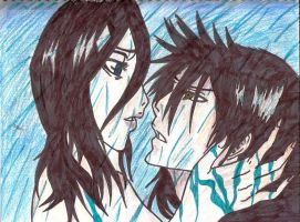 IchiRuki: In The Rain by Chaos-Angel142