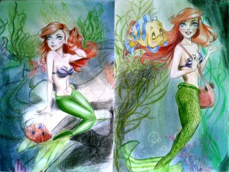The Little Mermaid-tribute by IZZY-BD