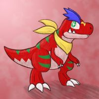 Dino Buddy by Snowbound-Becca