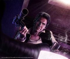 Star Wars:Han's Heavy Blaster Pistol by Thaldir