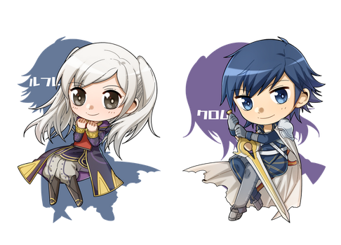 Chrom and Robin by Unknown-Amelia