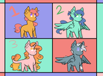 Adopts {3/4 OPEN} by Rabies-the-Squirrel