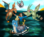 My Pokemon SoulSilver Team by MelodicDragon