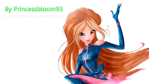 The Winx Club Flora World Of Winx by PrincessBloom93