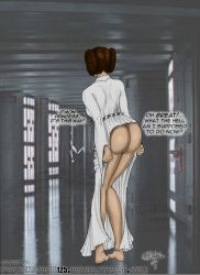 Leia's Ass-less dress by powerbook125