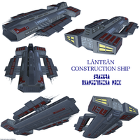 Lantean Construction Ship 1 by Chiletrek