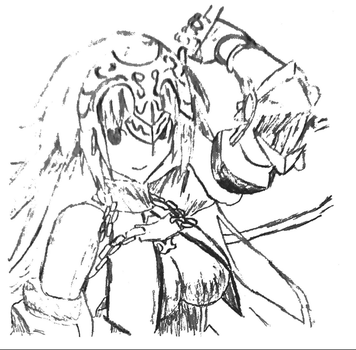Picture 14 - Jeanne d'Arc - Trace by drawing-archive