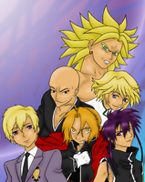 The Many Faces of Vic Mignogna by Arinen