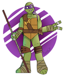 The purple turt by Bricus27