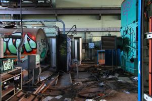 969, old AMCOR papermill. by thespook