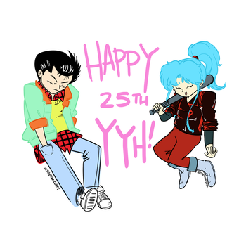 YYH25th by DaemonCorps