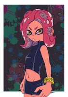 Octoling by belaaron17